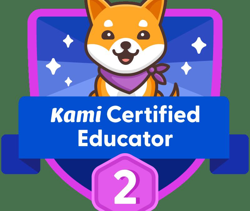 Kami Certified Educator – Level 2