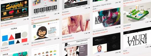 99 Galerias CSS para promocion y/o inspiracion de tus trabajos