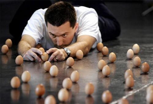 Cuando te sobran huevos…