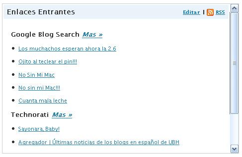 Google Blogsearch y Technorati también juntos en WordPress 2.5