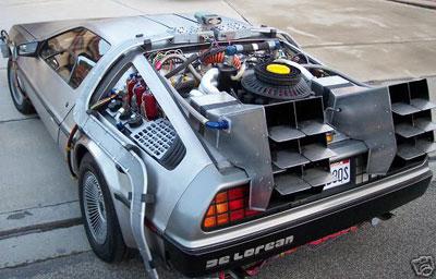 Se vende DeLorean con condensador de fluzo
