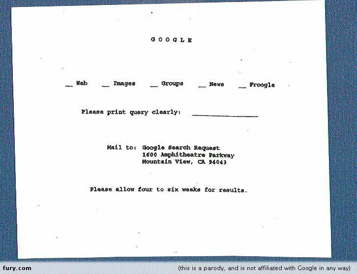 Google sixties. El primer buscador de google…