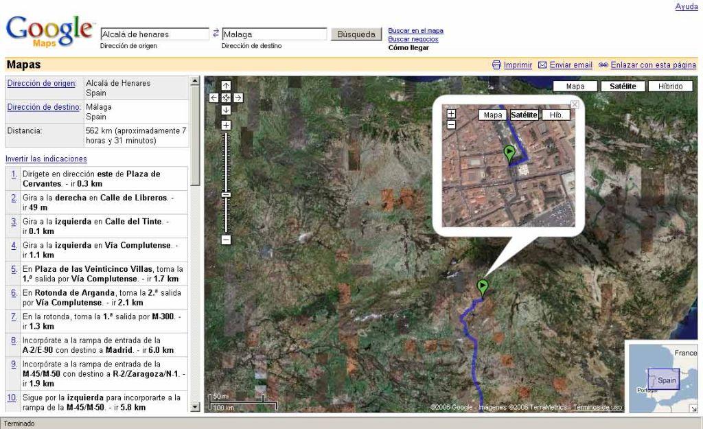 Google Maps ya funciona en España