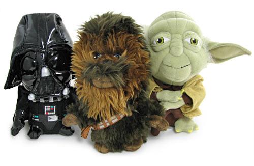 Vader, Yoda y Chewie