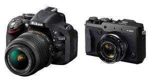 Cámara fotográfica reflex y compacta con las que podrías hacer tu foto de perfil profesional