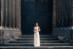 Sesión fotográfica de moda realizada para la colección de novias de Veneno en la Piel