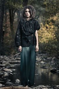 Fotografía realizada en una sesión fotográfica de moda en el Parque Natural del Montseny