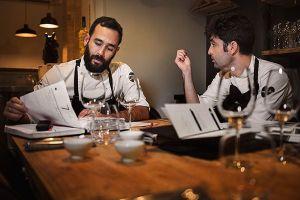 Fotografía Personal Branding para los Chefs Bernat Bermudo y Oswaldo Brito del restaurante Mano Rota