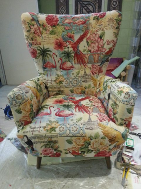 Upcycling Sessel