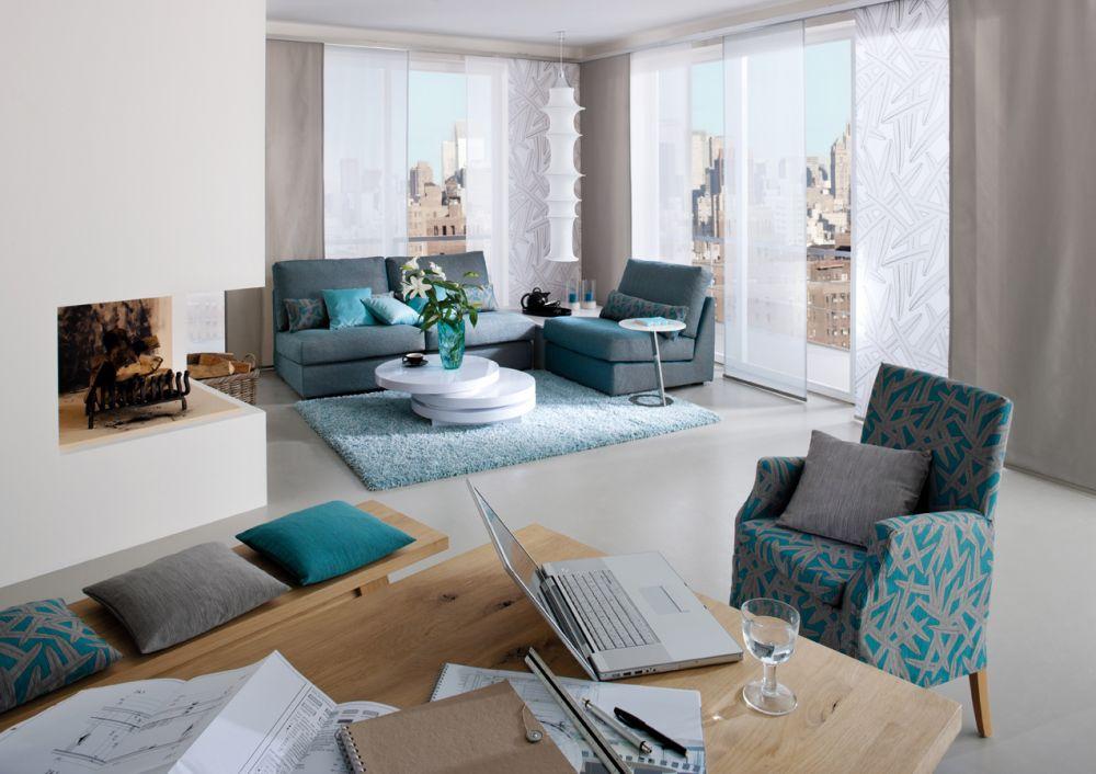 Wohnzimmer  Raumausstattung Raumgestaltung Wohnberater