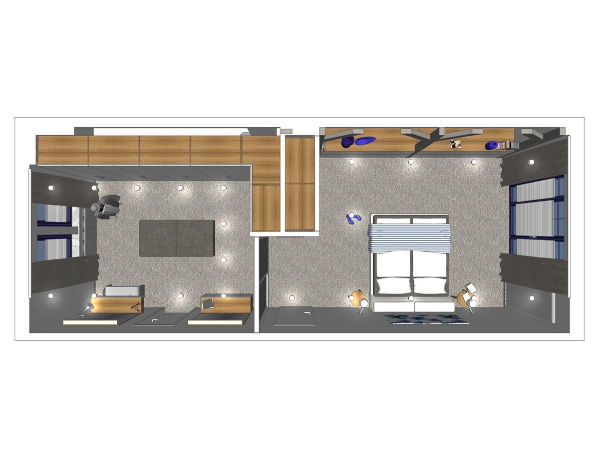 Schlafzimmerplanung mit Besonderheiten  RAUMAX