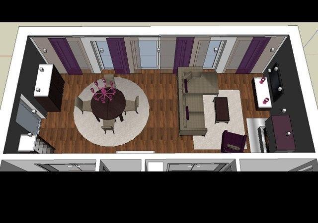 Wohnzimmer gestalten mit modernem Kamin  RAUMAX