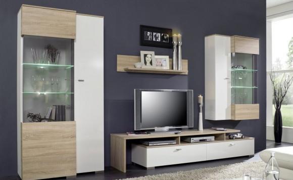 Moderne Wohnwnde