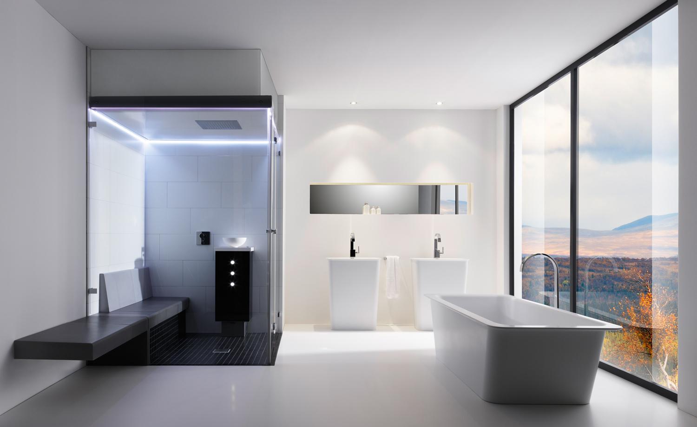 Groes Badezimmer  schne Ideen