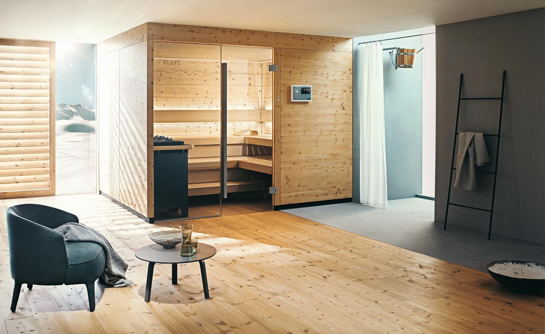 Luxus pur  Wellnessbad mit Sauna