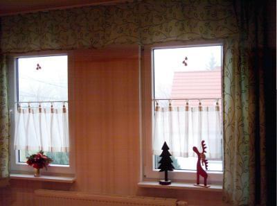 Gardinen  Scheibengardinen  fr das Wohnzimer