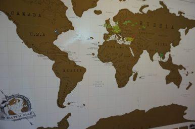 Noch sind viele dunkle Flecken auf unserer Scratch-Map