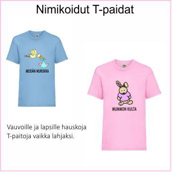 T-paidat lapsille