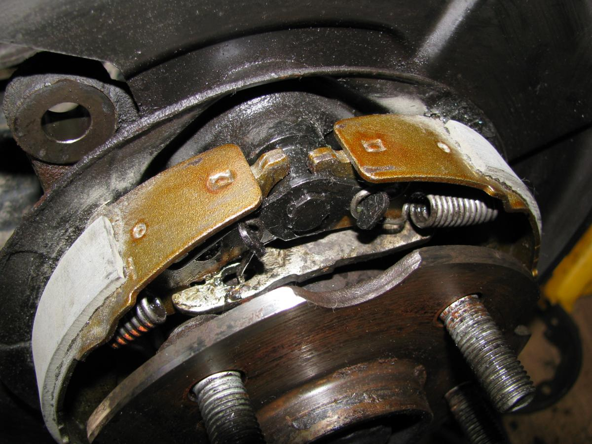 hight resolution of rear brake overhaul replacing pads and parking brake shoes toyota rav4 forums