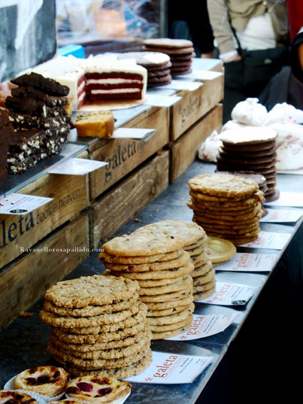 Londra al mercato - food markets and Travel takes taste