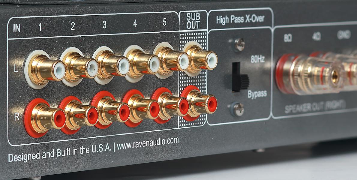 Nighthawk RCA Connectors