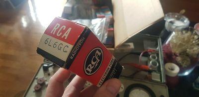 RCA 6L6GC 50's