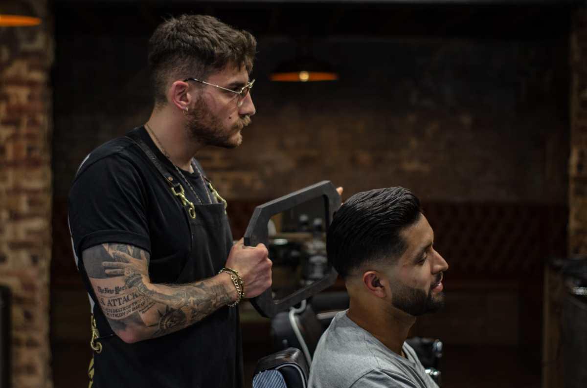 Fitzrovia barbers