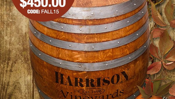 Wine Barrel Designs Fall Email Marketing