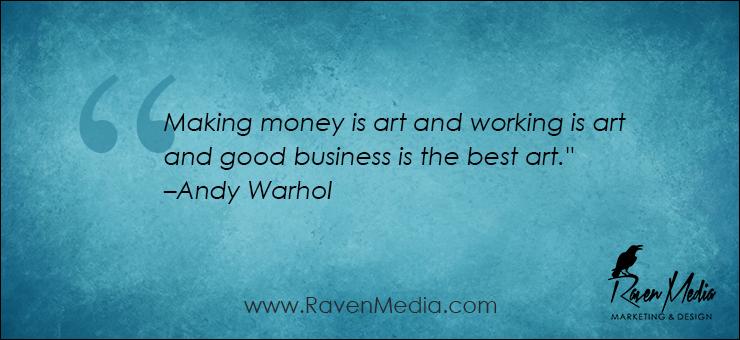 Monday Morning Inspiration: Making Money is…