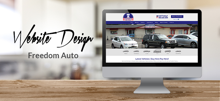 Freedom Auto Website Design