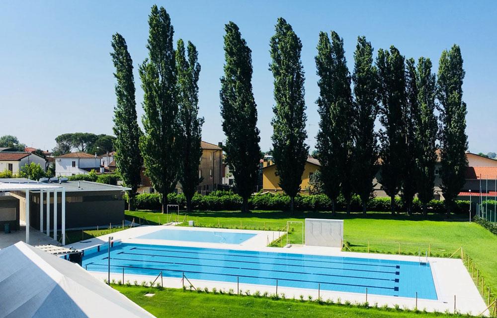 Nuova piscina a Russi il 7 giugno linaugurazione
