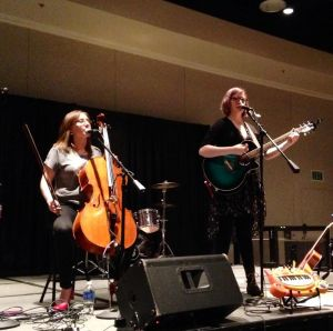 The Doubleclicks Performing at Geek Girl Con 2014