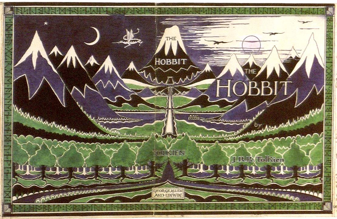 Bildergebnis für the hobbit book cover