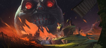 Majora's Mask artwork by Vincent Bisschop