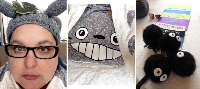 Raven Oak Totoro Cosplay