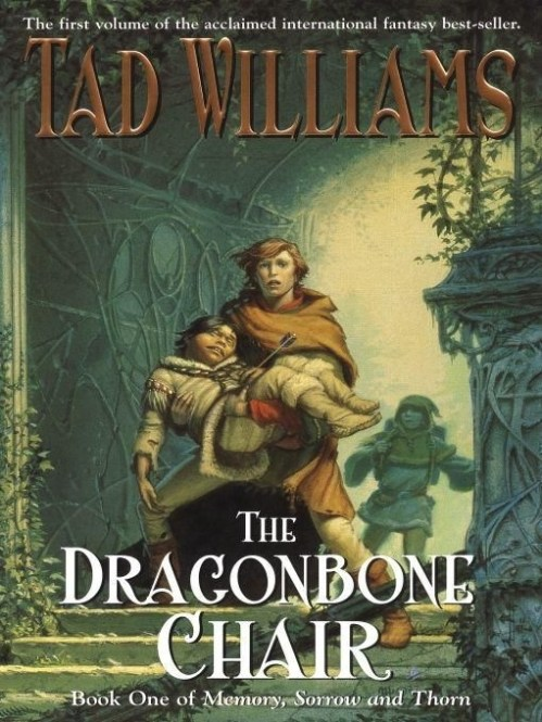 The Dragonbone Chair by Tad Williams cover Throwback Thursday