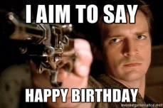 Captain Hammer Birthday