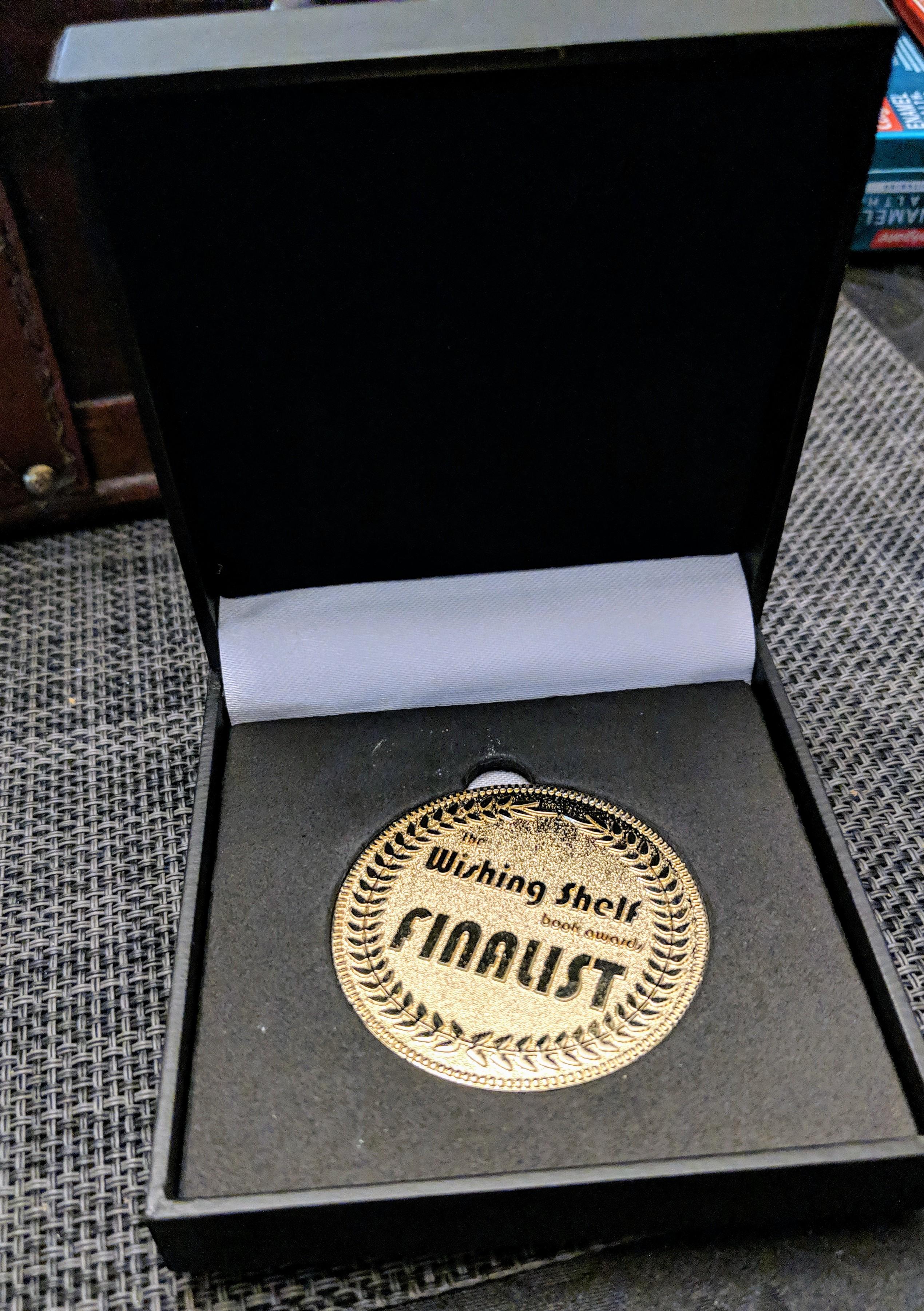 finalist medal