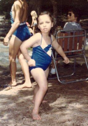 Me, age 5