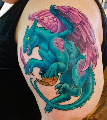 Chenata, my dragon