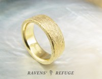 Thick Gold Wedding Bands - Unique Wedding Ideas