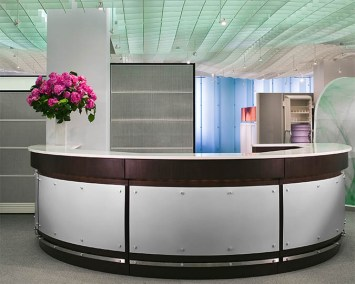 Ethospace Reception with Steel Cladding