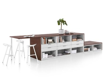 Meridian Storage with Stools