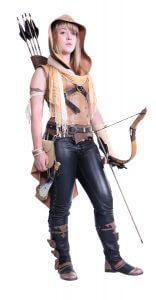 Leather Archer Bodice