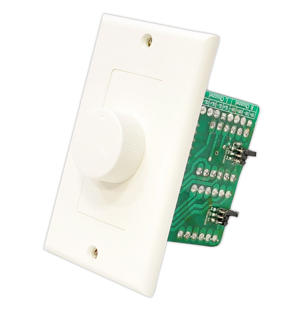 medium resolution of someone somewhere is still installing knobs and patch plates wiring in wall speaker volume control