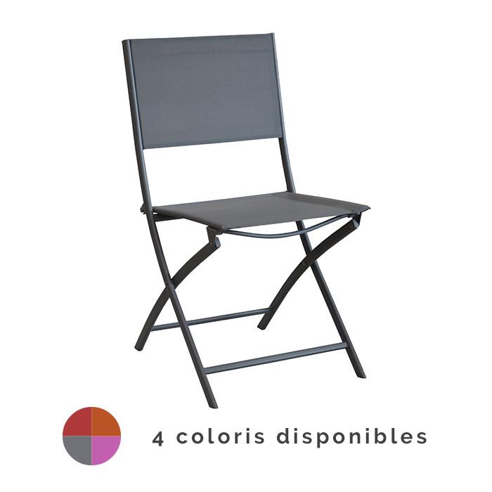 chaise de jardin pliante alize dream
