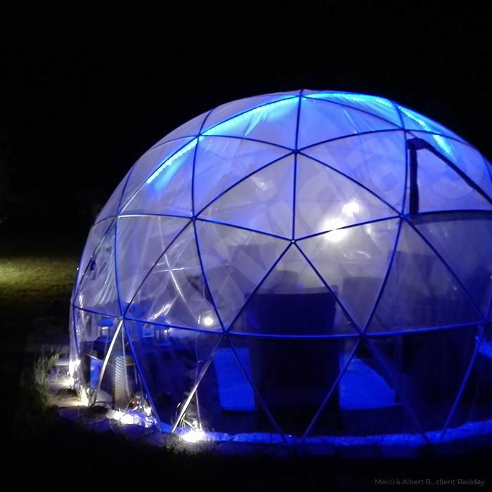 garden igloo abri bulle de jardin et