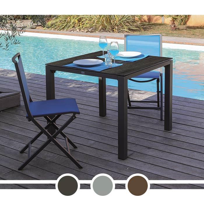 table de jardin proloisirs stoneo