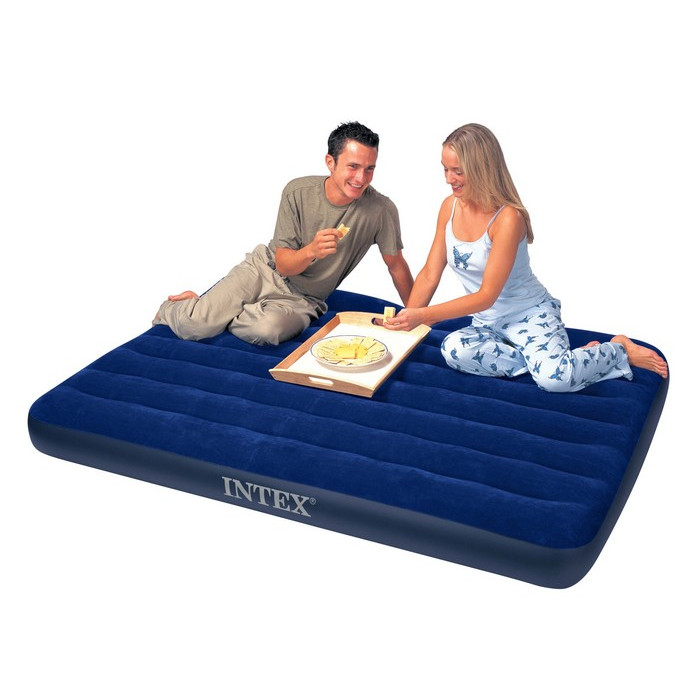 Matelas Gonflable 2 Personnes Downy Classic Intex