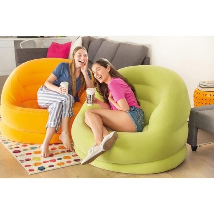fauteuil gonflable intex lumi raviday